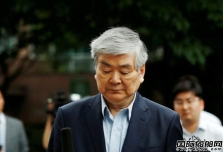 韩进重工董事长赵南镐失去公司控制权