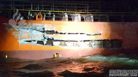 维京游轮一艘内河邮轮与化学品船相撞