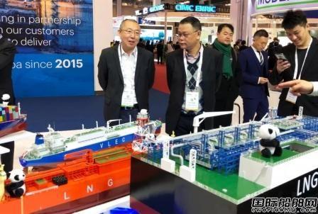 江南造船液化气船群星闪耀LNG2019