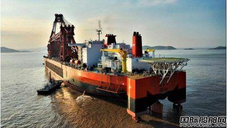 振华重工12000吨全回转起重船项目通过发改委验收