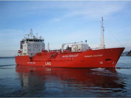 瓦锡兰为新型LNG船提供设备集成解决方案
