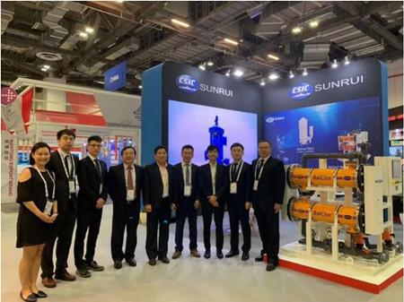 青岛双瑞携两大产品参加第7届新加坡亚洲海事展