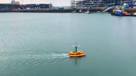 云洲智能与康斯伯格围绕无人船开展合作