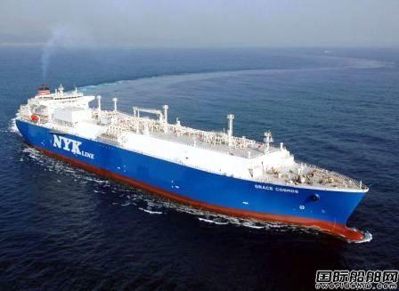 日本邮船在现代三湖重工订造1艘LNG船