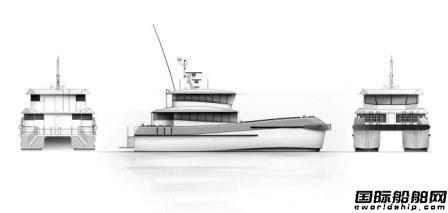 Seacat Services订造2艘双体风电运维船