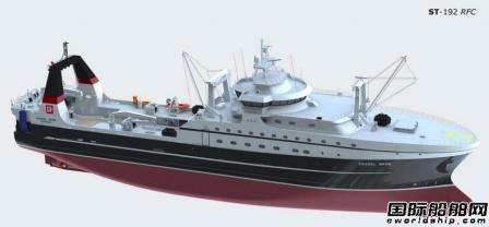 俄罗斯船厂开建第二艘超级拖网渔船