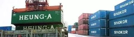 韩国两大航运公司合并集运业务
