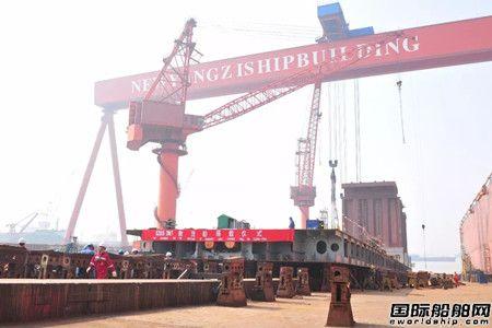 新扬子造船一船搭载一船开工