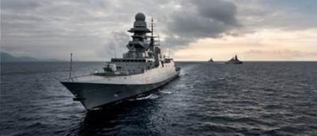 Fincantieri交付意大利海军第8艘多任务护卫舰
