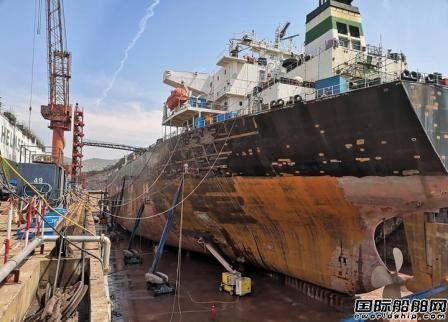 万邦永跃开启绿色修船新模式