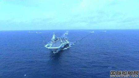 首艘国产航母第五次海试 大量内部画面公开