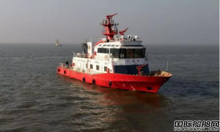 海新船务建造200吨级消防船完成试航