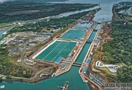 巴拿马运河下月将迎来最大集装箱船