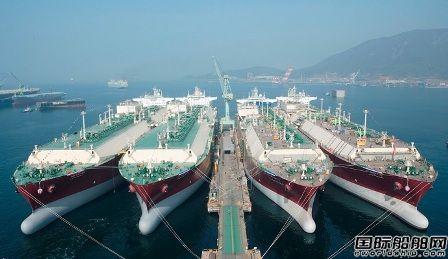 最多100艘!史上最大LNG船建造项目启动