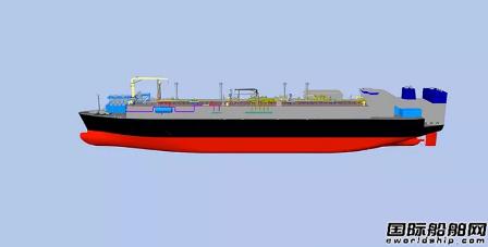 沪东中华首获全球大型LNG-FSRU改装项目