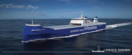 丹麦公司获金陵船厂混合动力冰级滚装船设计合同