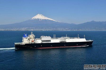 JMU为商船三井建造2艘16.5万方LNG船命名