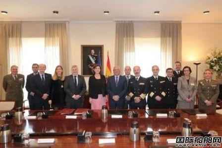 Navantia签署西班牙海军5艘F-110护卫舰建造合同