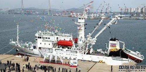 韩国首艘多用途渔业教学实习船启航