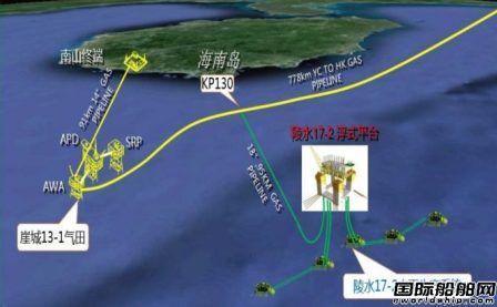 吉宝获海油工程陵水气田项目工程服务合同