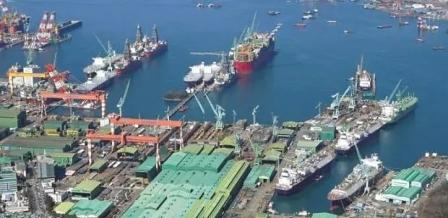 三星重工建造首批LNG动力船投入运营