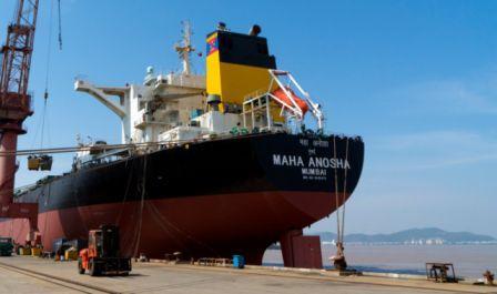 天地环保完成首艘船舶脱硫装置改造