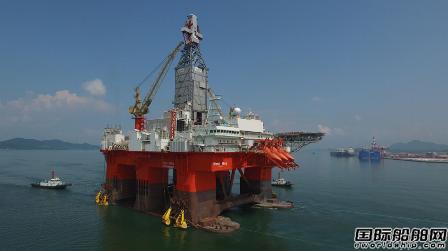 大宇造船对折出售第三艘撤单钻井船