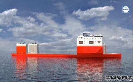 七O八所成功中标8万吨级半潜打捞工程船设计