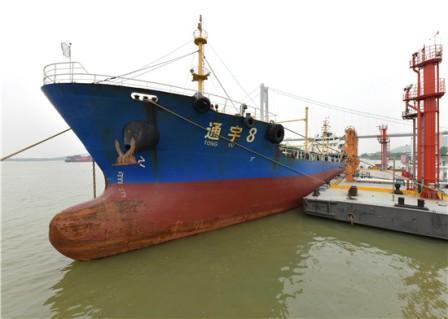 金陵石化首次出口低硫船用油
