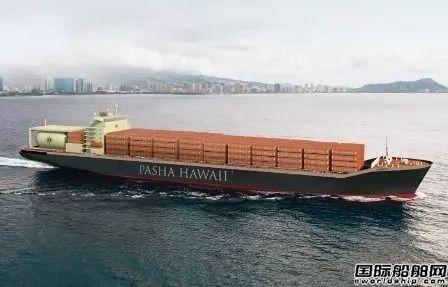 吉宝美国船厂开建首艘LNG动力集装箱船