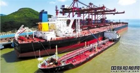 浙江自贸区前4月船用燃油供应量稳步增长
