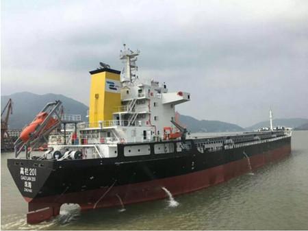 东南造船交付一艘20500吨散货船