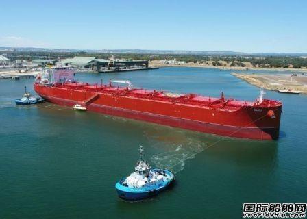 中国船厂建造全球首艘组合运输船正式投入运营