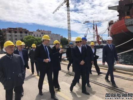 中船重工将派代表团赴克罗地亚深入考察船厂