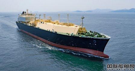 大宇造船获今年第5艘LNG船订单
