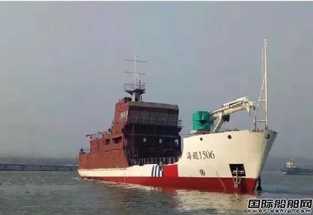 """七一二所综合电力系统让公务船有了""""中国心"""""""