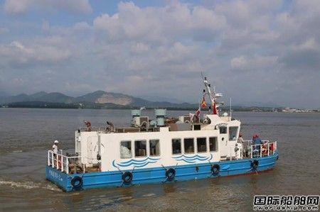 航通船业一艘46客位钢质交通艇试航
