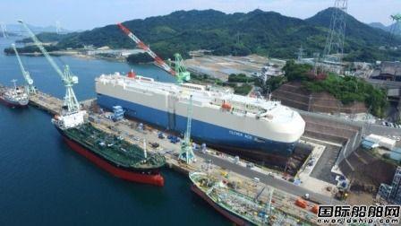 日本船企4月接单量同比大增40%