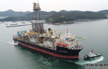大宇造船终于交付Sonangol第二艘钻井船