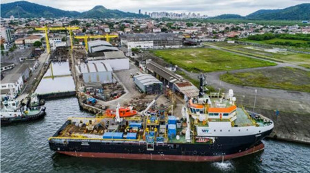 达门和Wilson Sons合作完成潜水支持船改装