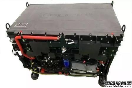 七一二所成功研制燃料电池发动机