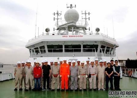 """""""蓝海101""""号海洋渔业综合科学调查船完成第二次海试"""