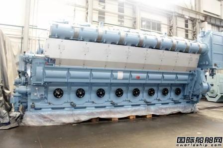 陕柴重工首台功率最大中速柴油机顺利发运