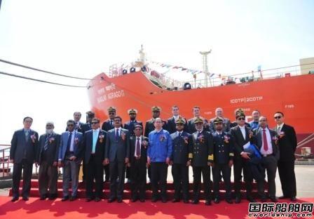 中机公司自营出口孟加拉六艘船舶顺利交付