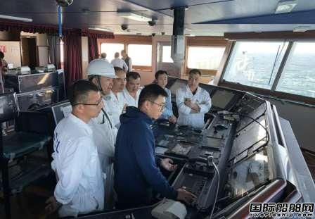 海兰信助力全球首艘智能VLCC海试凯旋