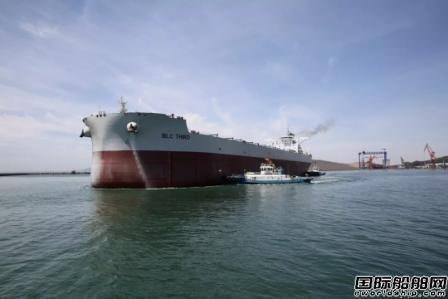 渤船重工21万吨15号散货船实现试航节点