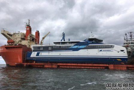 荷兰首批单燃料LNG动力船运抵Den Helder