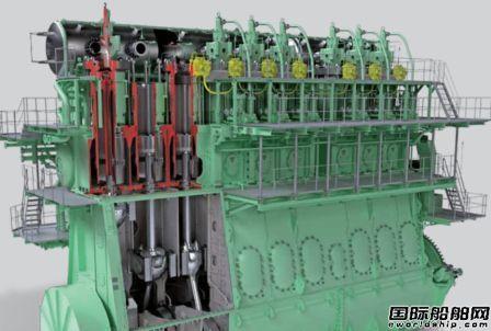 MAN开始研发小型低压二冲程燃气发动机