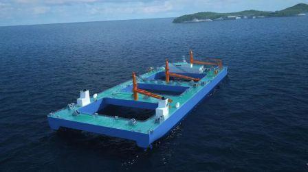 口行助力黄埔文冲首艘自航式沉管运输安装船