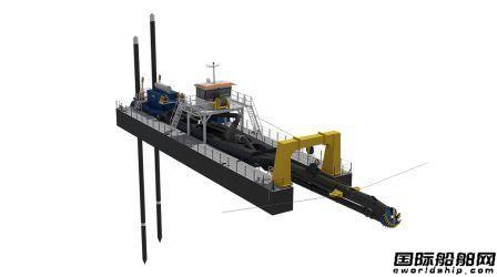 达门集团推出新型深挖绞吸式挖泥船